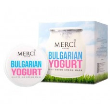 Merci Bulgarian Yogurt Whitening Cream Mask ครีมมาส์กบัลแกเรียโยเกริต์ ส่งฟรี EMS