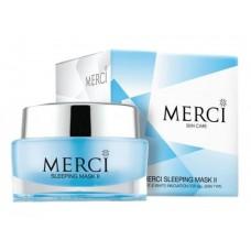 Merci Sleeping Mask II Cream Face เมอร์ซี่ สลิพปิ้ง มาส์ก ทู ส่งฟรี EMS